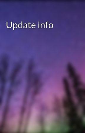 Update info by NightWolf675
