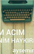 BENİM ACIM BENİM HAYKIRIŞLARIM by aysemir1404