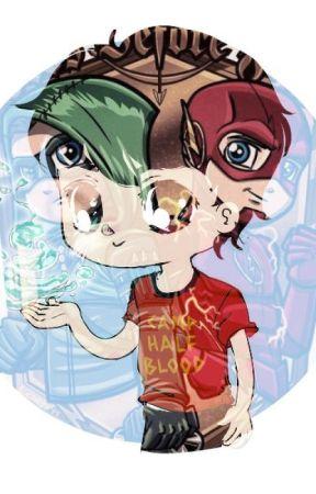 The hurricane (Percy Jackson meets Flash/Arrow) by Wisegirl555