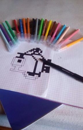 Mes Dessins En Pixel Art Chat Wattpad