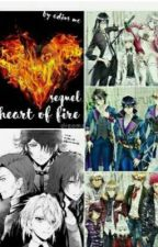 Heart of fire (K project x reader) SEQUEL  by Adius_mc