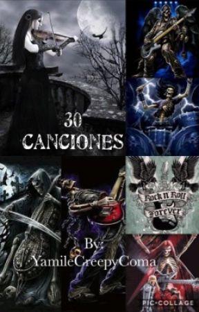 30 canciones  by YamileCreepyComa