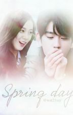 [Series drabble JinJi | Jinyoung x Jisoo] Spring day by wat21say