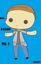 Mes Dessins PC  by -ZiaGy-