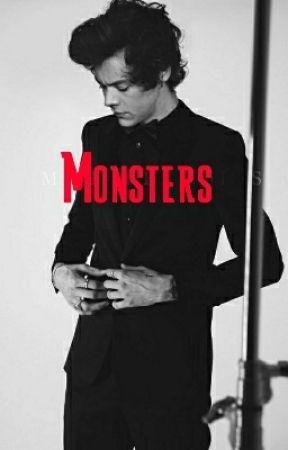 Monsters (H.S)  by SassyBritishEmpire