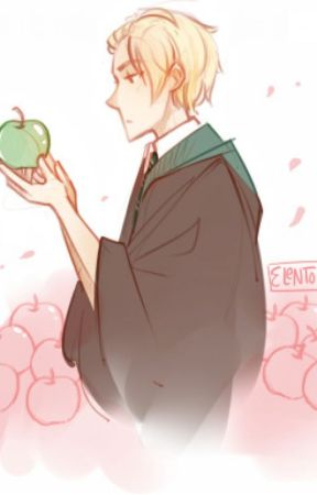 Draco Loves His Apple by Crazy_Ninja_Mermaid
