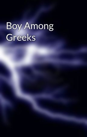 Boy Among Greeks by BlazeThunderStorm
