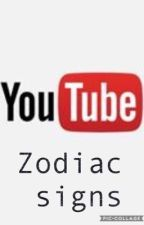 Youtuber zodiac signs by YASStoEVERYTHING