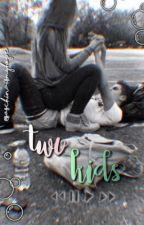 «Two kids» [1] by blackscribble