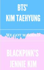 We Got Married [BTS' Kim Taehyung and BLACKPINK's Kim Jennie] by manoonabi