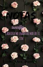 Notas●Namjin by otra_chica_shipper_
