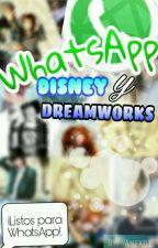 WhatsApp Disney y Dreamworks  by YaneK01