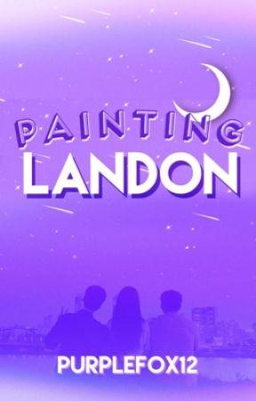 Painting Landon by purplefox12