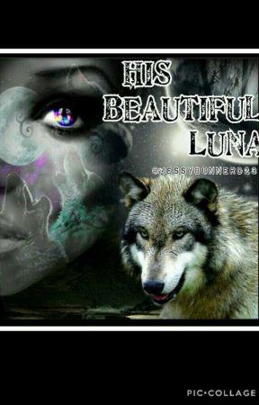 His beautiful Luna  by Messybunnerd23