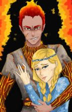the snow  queen 3 fire x ice by lonelyrosemary