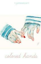 colored hands.- 《yoonmin》 by BultoroneInfires