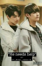 """he needs help"" vkook ff  by my_suga_kookie_"