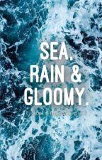 sea, rain & gloomy. by Ribihappy