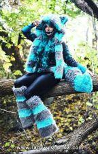 Bill Cipher × Cheshire Cat (Reader) by Willa_Luna