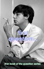 first question... ~ Paul McCartney (1st book) by NotebooksandCoffee