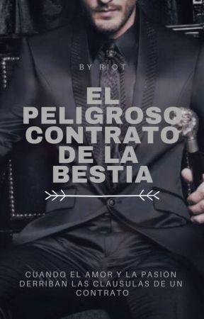EL PELIGROSO CONTRATO DE LA BESTIA [GAY] by LaRiot-san