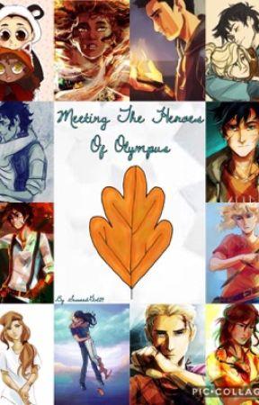 Meeting the Heroes Of Olympus by SeaweedGirl24