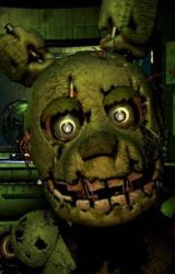 Five Night's At Freddy's Golden eyes by JohnCena125