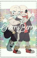 Cherryberry [❤Sans Fell X Sans Swap💙]  by _Emma_uwu