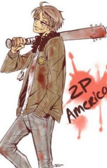 2P!America x Reader: Shit Happens