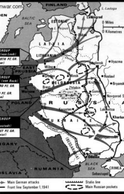 German Order of Battle for Operation Barbarossa