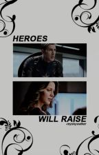 Heroes Will Raise - Superheroes GIF SERIES by -reyskywalker