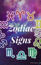 Zodiac Signs by liv_rooney_fan