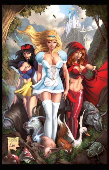The Fairytale Princesses of Pleasure Series