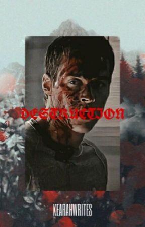 Destruction ⇏ BELLAMY BLAKE ✓ by stargayze--