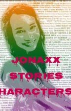 Jonaxx Stories Characters by JonaxxGirl28