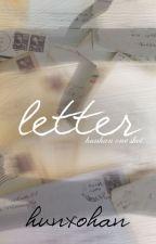 Letter «hunhan» by hunxohan