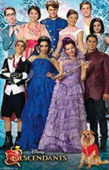 Disney Descendants Boyfriend/Girlfriend Scenarios - Hallie ...