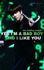 Yes I'm a bad boy and I like you || jjk ff. {szünet} by the_fucking_seagull