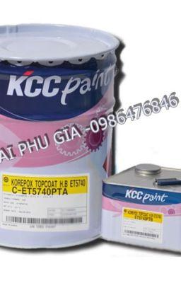 SƠN EPOXY KCC NGOÀI TRỜI/SƠN URETHANE KCC