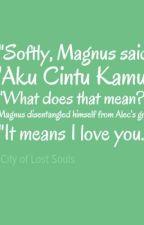 Csontváros - Magnus és Alec első csókja - kimaradt jelenet by badpunman