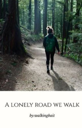 a lonely road we walk » carl gallagher by walkingbait