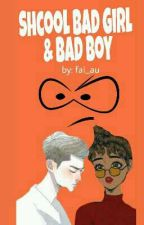 School Bad Girl & Bad Boy by fai_au