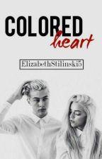 COLORED HEART by ElizabethStilinski5