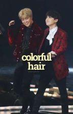 colorful hair ♦ pjm+myg by charmingxhoran