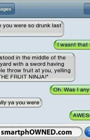 Funny texts messages by kiddolovesbooks