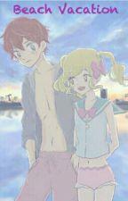 Beach Vacation Aikatsu stars  by Lulu_unicorn_cookie