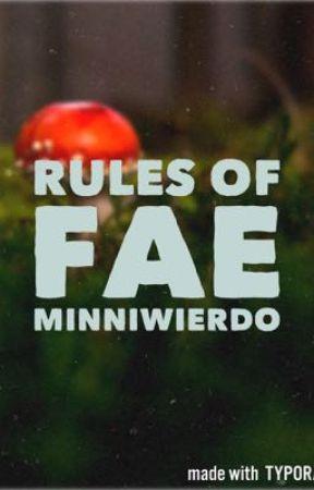 Rule of Fae by minniwierdo
