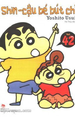 Shin-cậu bé bút chì - tập 42