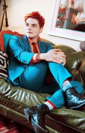 Unholy Pictures of Gerard Way  by kitteniero-