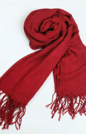 The Red Scarf by saislam1